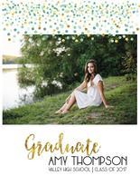 Confetti Graduate by Lara Briffa