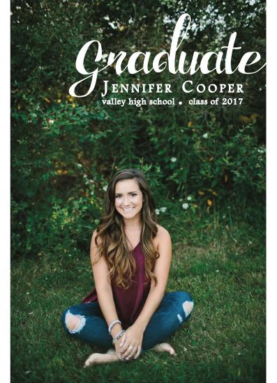 graduation announcements - Graduation Announcement 3 by Lara Briffa