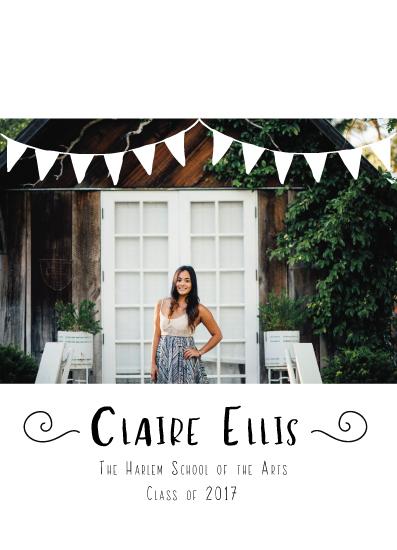 graduation announcements - Fun Banner Announcement by Lara Briffa