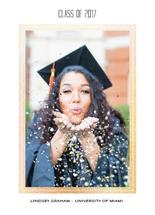 Glittery Gold Grad by esther designs