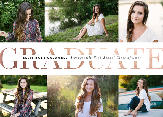 graduation announcements - Pride and Joy by Carrie ONeal