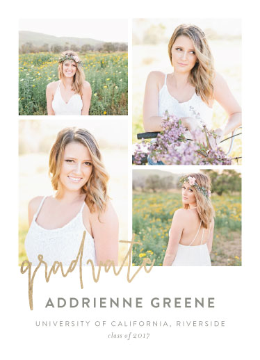 graduation announcements - spring grad by Jay Anne