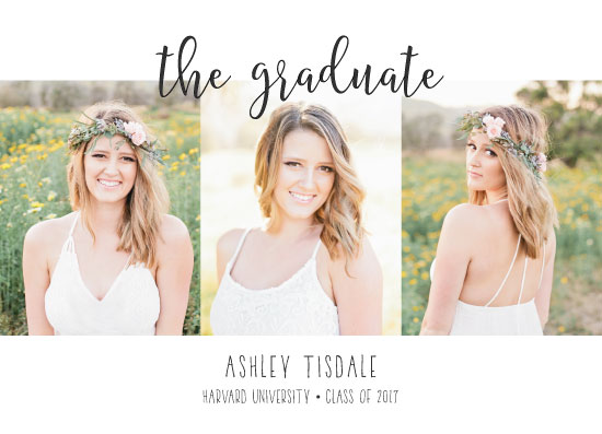graduation announcements - Classy by Kristel Torralba