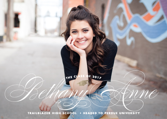 graduation announcements - Just Fab by Brooke Chandler