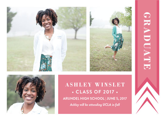 graduation announcements - Be Proud by Estefanie Tawoy