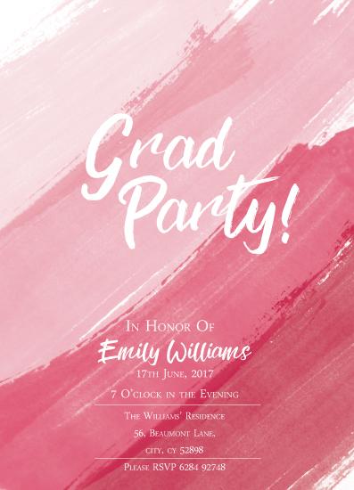 graduation announcements - Grad Party by Lara Briffa
