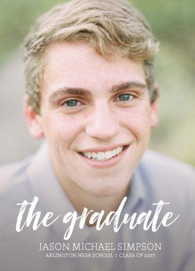 graduation announcements - The Graduate by Lauren Gerig