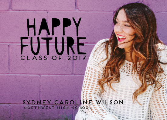 graduation announcements - Happy Future by jeanne smith
