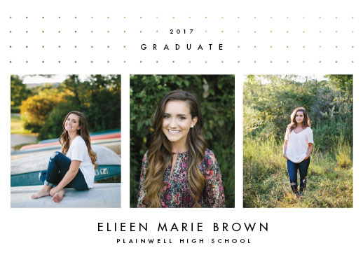 graduation announcements - Decided Dots by Pixel and Hank