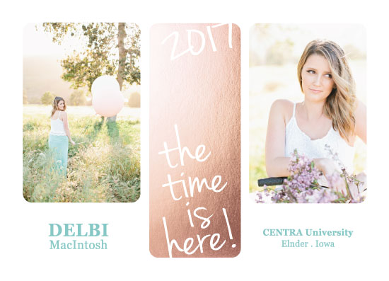 graduation announcements - The time is here by Amy Estrada
