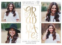 Stacked Gold Grad by alisa brainard