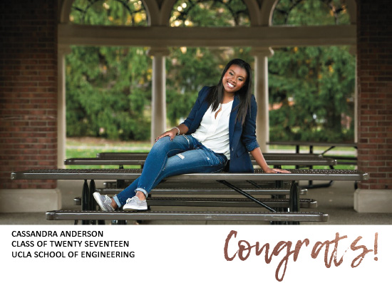 graduation announcements - congrats to you by esther designs