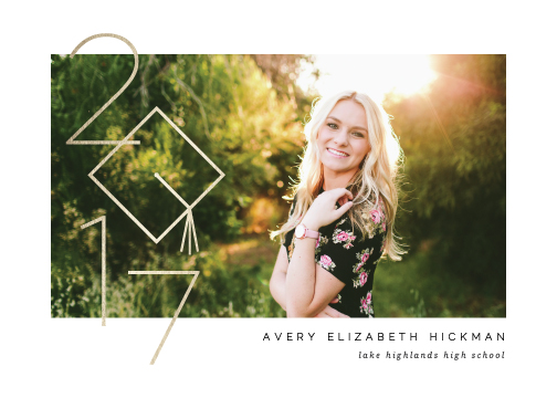 graduation announcements - Commence by Lauren Chism