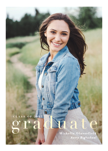 graduation announcements - gazette by chocomocacino