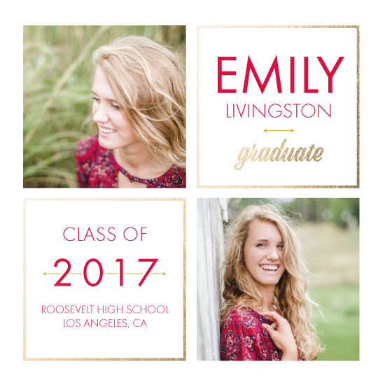 graduation announcements - In Frame by Anna Mkhikian