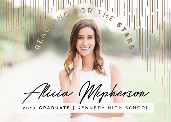 graduation announcements - A rain of Stars by Alexe Emond
