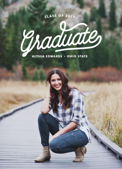 graduation announcements - retro by Poi Velasco