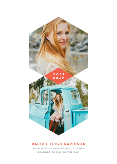 graduation announcements - shaping the future by Guess What Design Studio