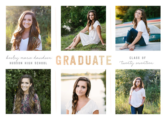 graduation announcements - multiplied by Robin Ott