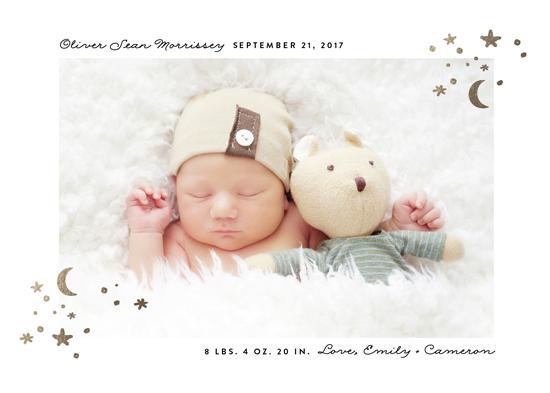 birth announcements - Elegant accent by Erica Krystek
