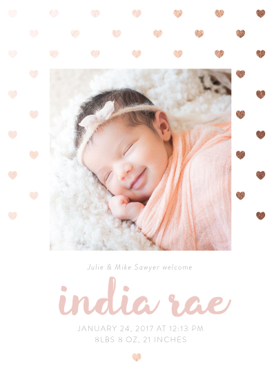 birth announcements - All the love by Katie Reuschle
