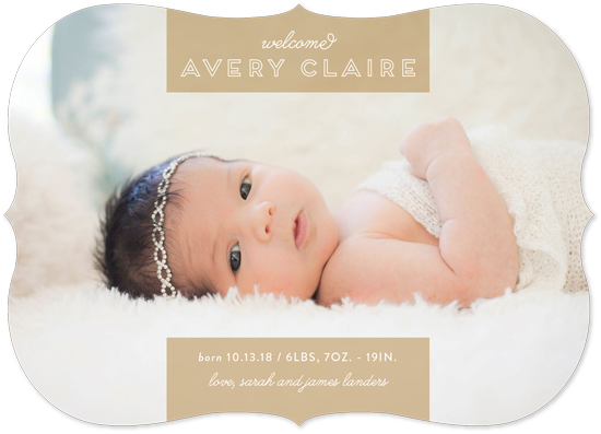 birth announcements - Ribbon Love by Chasity Smith