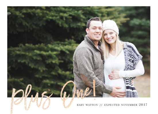 birth announcements - Plus 1 by Bethany Anderson