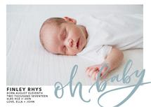 Oh Baby Modern Calligra... by Ashley Purser