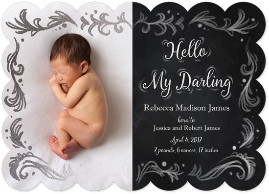 birth announcements - Hello My Darling by Rachel Lang