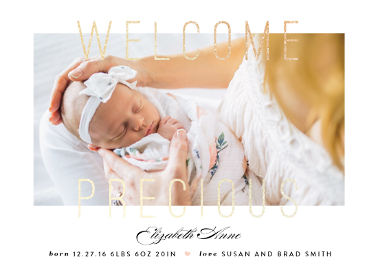 birth announcements - welcome precious by Sweta Modi
