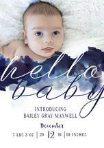 Hello baby Bailey by Estie