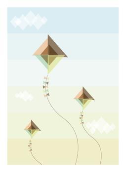 Kites on Flight