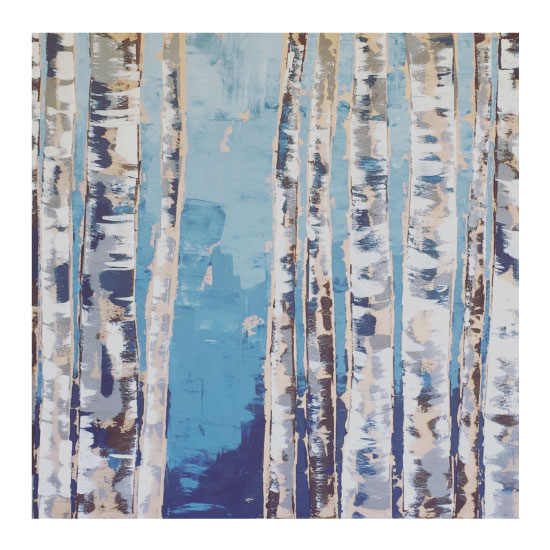 art prints - Afternoon Birch by Taelor Fisher