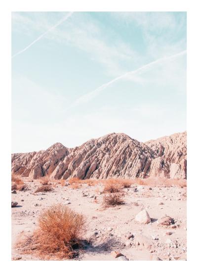 art prints - Painted Canyon 4 by Kamala Nahas