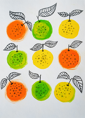 art prints - VITAMIN C by Olga Davydova