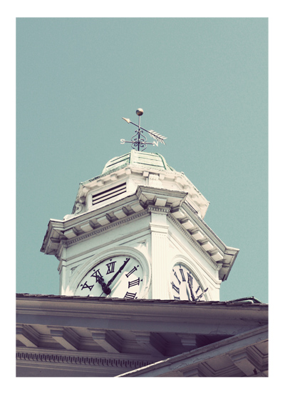 art prints - The Time Teller by Gray Star Design