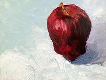 Apple Study by Jessie Baude