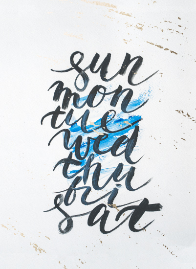 art prints - From Sun to Sat by Olga Davydova