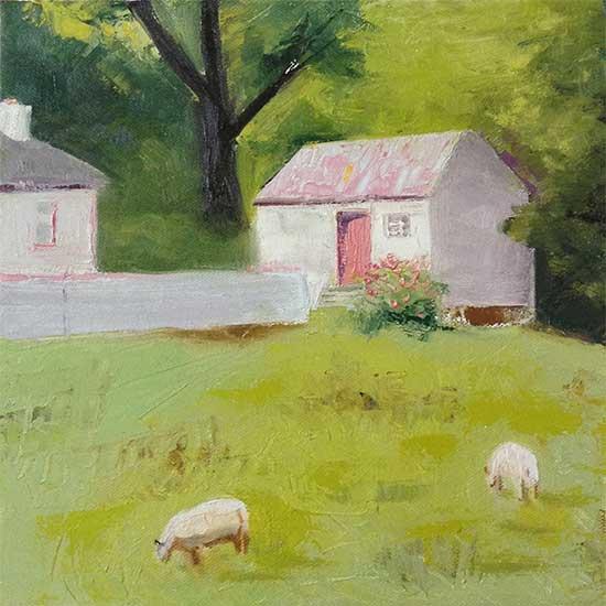 art prints - Little Irish Cottage by Deb Perugi