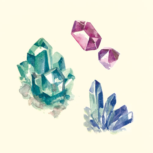 art prints - Crystal Collection by Diana Chen Kitthajaroenchai