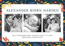 Handdrawn Leaves by Elise Harden