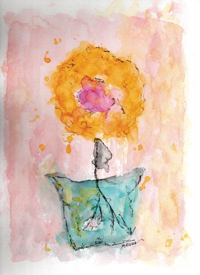 art prints - flower power by jeanne smith
