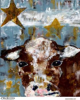 Modern Farm Series - Moo Cow
