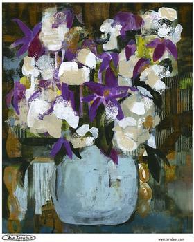 Mod Purple Floral