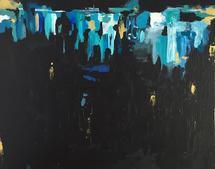 City Night II by Hannah Lowe Corman