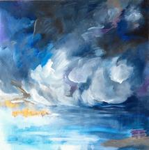 Stormy Evening by Hannah Lowe Corman