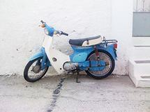 Greece Wheels by Sarah Hills
