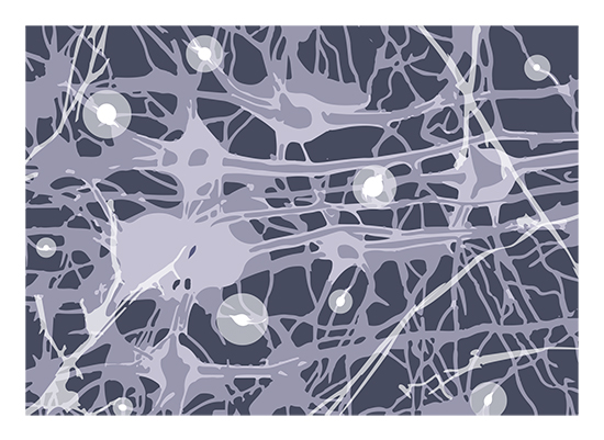 art prints - Synapses by Anna Mkhikian