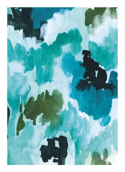 art prints - Viridian by Juliet Meeks