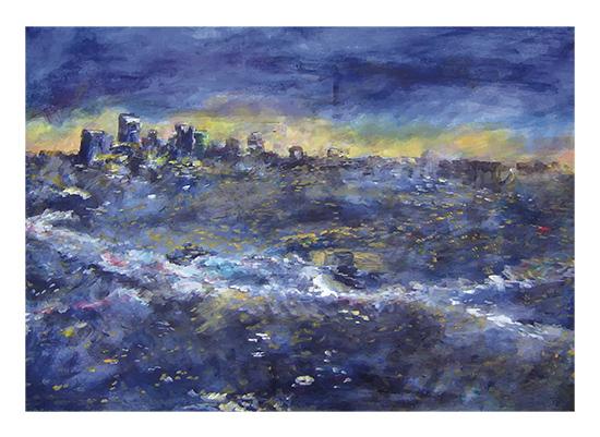 art prints - City of Stars by Anna Mkhikian